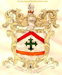 Ducal Crest design by M. Caulder.